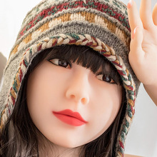 Japanese real silicone dolls real human love dolls  Chinese sex doll head oral TPE