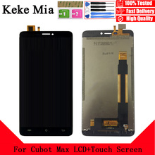 Keke Mia 6.0 For Cubot Max LCD Display+Touch Sccreen Digitizer Assembly Phone Accessories Free Tools And Adhesive+Wipes