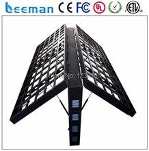 Leeman P10 полноцветный из светодиодов на открытом воздухе двусторонняя из светодиодов света / рекламный щит для рекламный щит двойной цвет из светодиодов табло