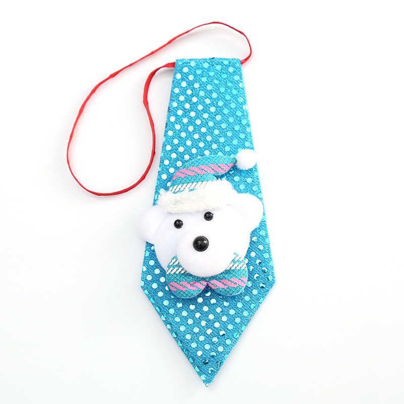 Chico niño bebé moda clásica ajustable Bowtie chlidron pajarita accesorios fiesta niños creativo Navidad pajarita