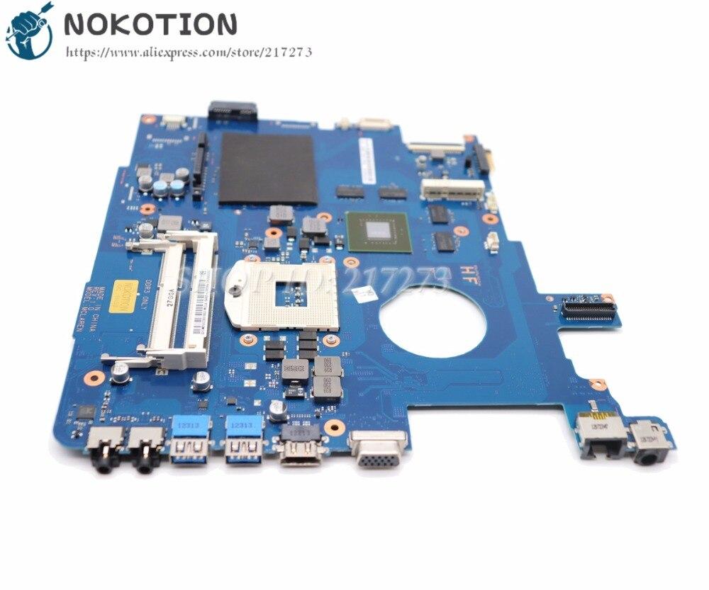 NOKOTION Brand New For Samsung NP550 NP550P5C Laptop Motherboard GT650M GPU BA92-09094A BA92-09094B BA41-01898A BA41-01900A nokotion for samsung np305e4a 305e5a 305e7a laptop motherboard socket fs1 hd6470m ba92 08197a ba92 08197b ba41 01818a