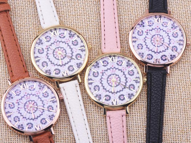2018 Для мужчин модные кожаным ремешком 3 глаза элегантный классический Повседневное аналоговый Бизнес кварцевые наручные часы