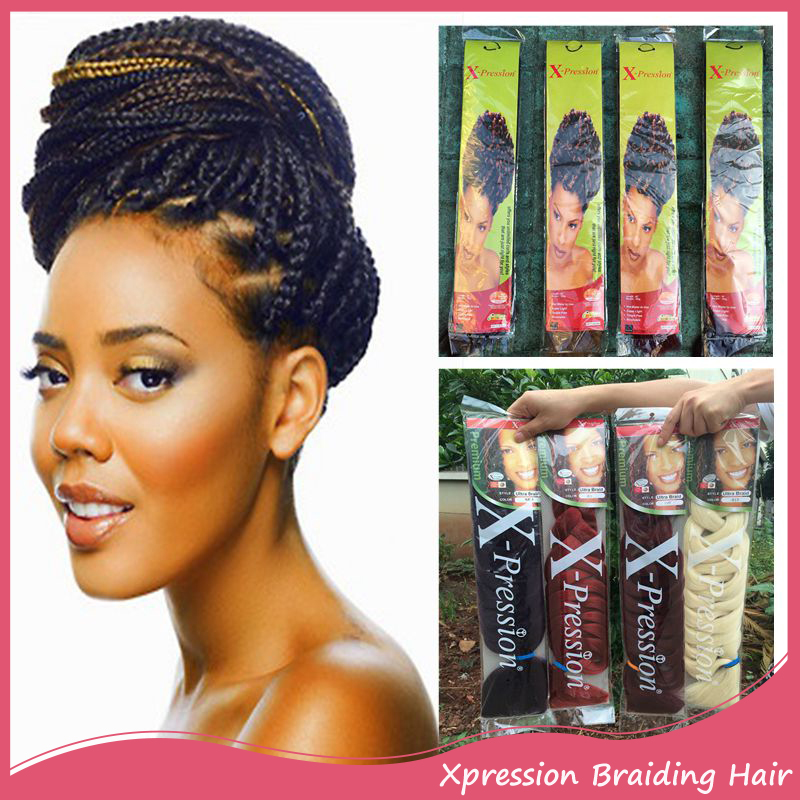 Xpressions Braiding Hair 165g 82inch Box Braids Hair ...