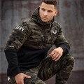 2016 hot mens hip hop Músculos Hermanos RSRV Camuflaje Sudaderas de Color Gymshark Estética Culturismo Gimnasio Ocio Hoodies