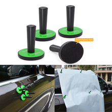 FOSHIO 4pcs Strong Car Magnetic Holder Vehicle Wrap Vinyl Film Fixing Tool Window Carbon Fiber Sticker Magnet Fixer