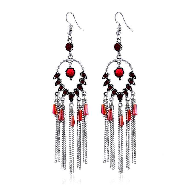 Luxury Long Earrings For Women