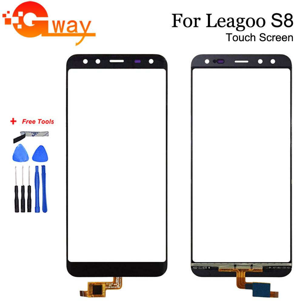 100% Tested For 5.72 Inch Leagoo S8 Touch Screen Mobile Phone Front Glass Touch Sreen Digitizer Panel With Free Tools