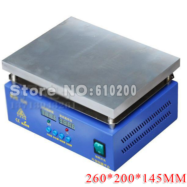 D26 Digital constant temperature heating platform/Preheating Station/Hot Plate/Heat Platform/Heating Plate 220V 1000W 260*200mm 10pcs fds4935a fds4935 sop 8 sop 8