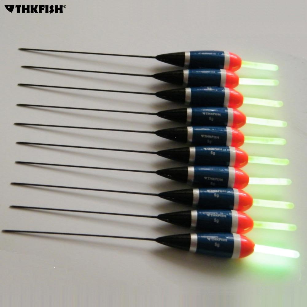 Buy 10 pcs 5g fishing float 10pcs for Fishing glow sticks