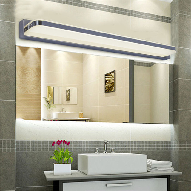 9 w 12 w moderne led miroir lumi re pour salle de bains for Cabinet pour salle de bain