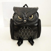 M588 Fashion Women Bag Cute Personal Animal 5 Colors Owl High Performance Price Ratio Shoulder Bags Backpacks Big Size