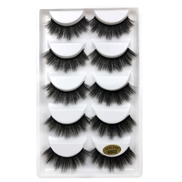 20/30/50 Packs Make your own logo custom 3D mink lashes G802 lashes with private logo for bulk wholesale G802