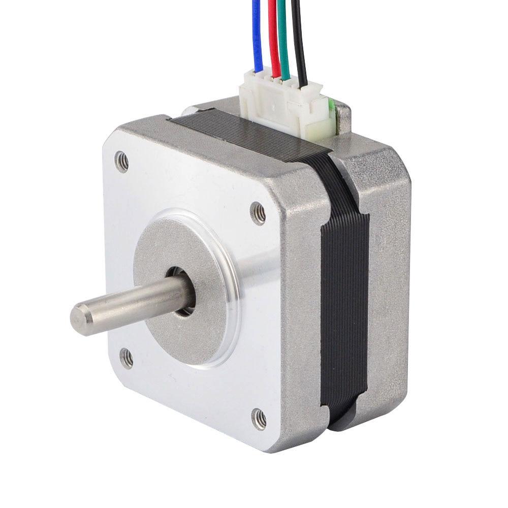 4-Lead Nema 17 Stepper Motor 42 Motor Nema17 Step Motor 0.7A 25mm 18Ncm(25.5oz.in) 3D Printer Motor CNC Robot 5pcs nema 14 stepper motor 25 5oz in 18ncm 5 4v 0 8a bipolar 3d printer makerbot 3d printer prusa makerbot reprap cnc robot