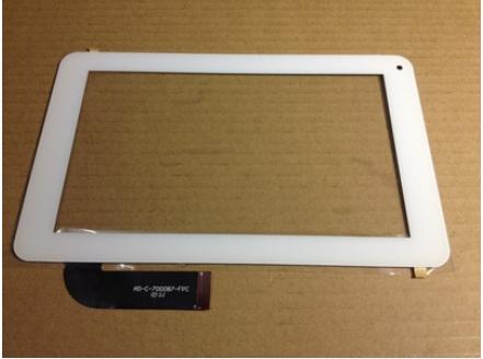 Nueva pantalla original táctil capacitiva de la tableta de 7 pulgadas AD-C700087-FPC blanco envío gratis