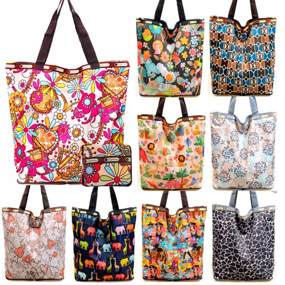 Fashion Portable Folding Shopping Bag Women Shoulder Crossbody Bags Bolsa Feminina Summer Beach Tote Handbags Lady Brand