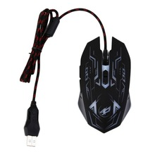 Professional 7D 7 Buttons Gaming Mouse USB Wired Optical Computer Game Mouse Mice with Adjustable DPI 1000-1200-1600-3200