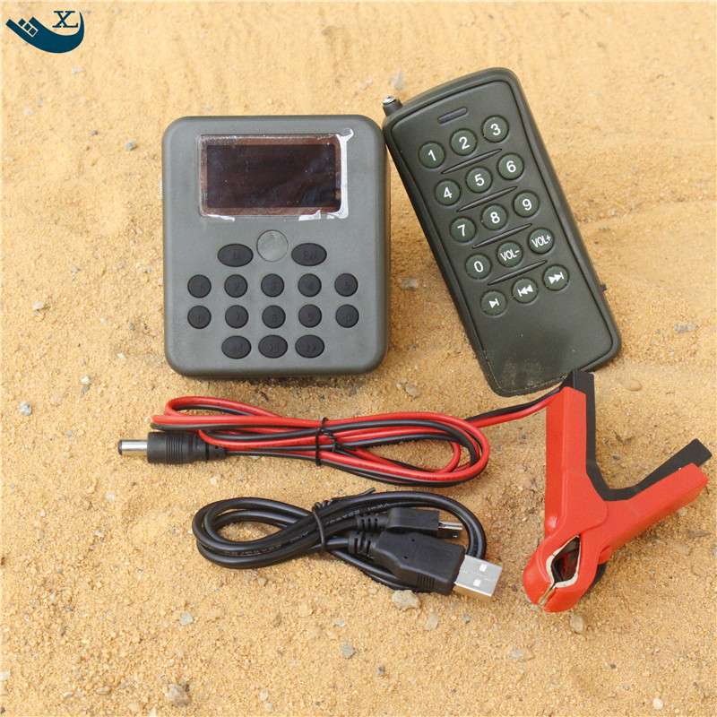 Outdoor Hunting Decoy  Bird Caller Mp3 Player 50W Loudspeaker Amplifier 200 Bird Sound  Hunting Bird Sound With Remote Control