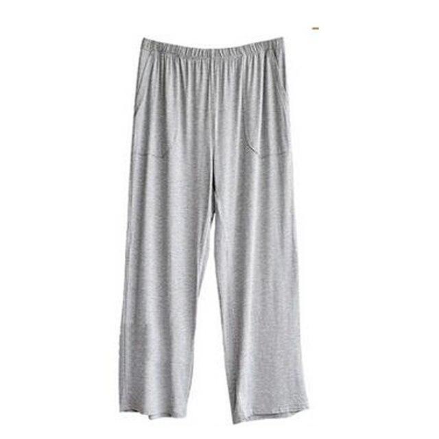 Sleep Bottoms Men's casual trousers soft comfortable Men's Sleep Bottoms Homewear Loose pants pajama modal pants