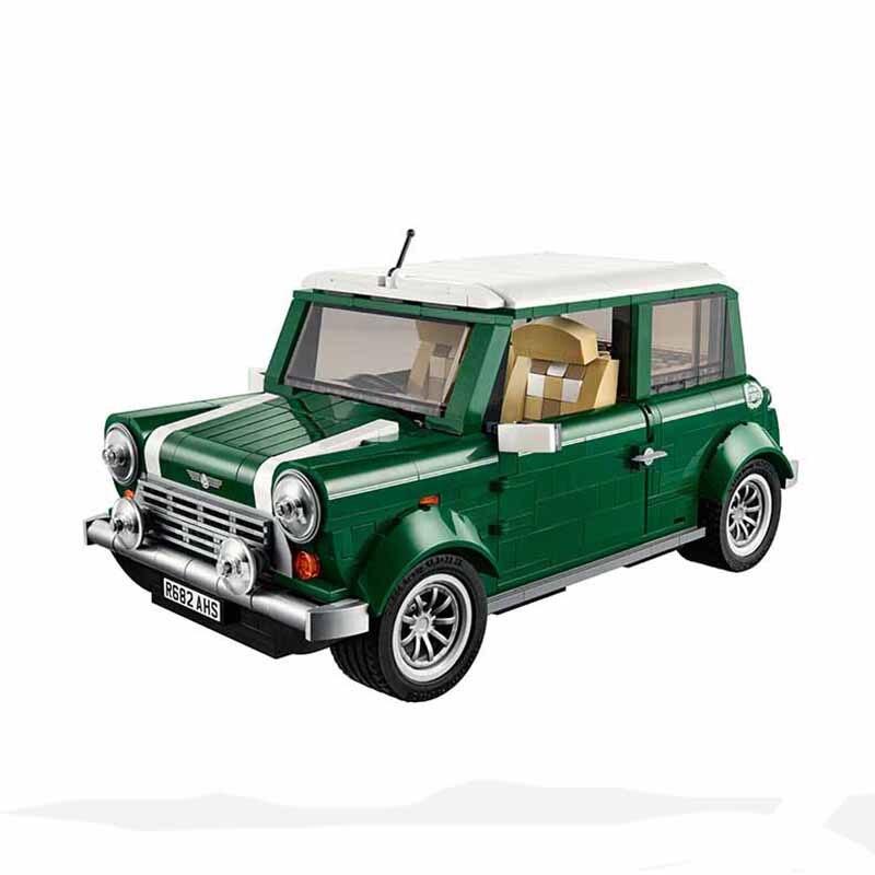 1077 Pcs Building Blocks Yile 002 Mini Cooper Model Building Car For Kids Bricks For Gift revell mini cooper