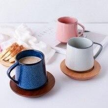 Porzellan ton kundenspezifischer Becher Kaffeetasse Tasse antiken stil Nordamerikanischen glasierte kaffeetasse