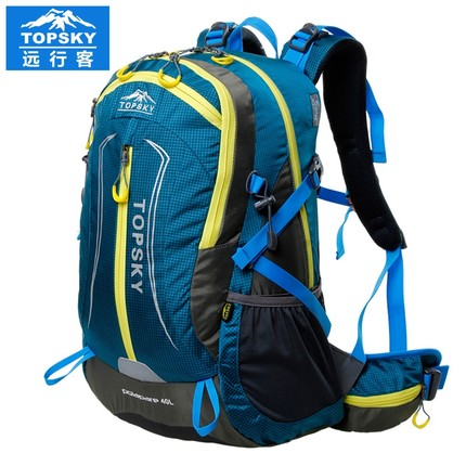 Topsky Men Women anti-tear Backpack waterproof sport bag 40L Outdoor sports bags camping backpack Hiking package Free Shipping