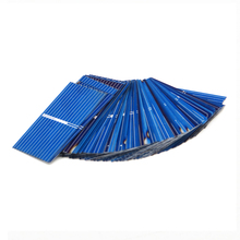 50pcs x Solar Panel China Painel Cells DIY Charger Polycrystalline Silicon Placa Solar Bord 39*22mm 0.5V 0.14W