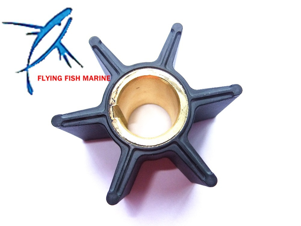 3B7-65021-2 18-8924 Outboard Engine Impeller For 2 Stroke Tohatsu /  Nissan 2 Stroke 40HP 50HP 60HP 70HP Boat Motor Water Pump