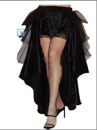 plus size petticoat Gothic Victorian Steampunk Burlesque Taffeta Lace Bustle Prom Wedding Skirt S-6XL