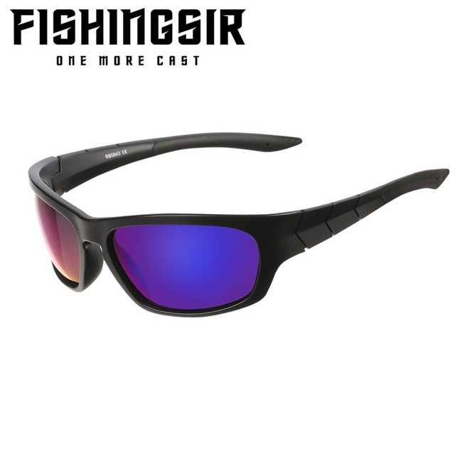 8b8732b8e4 Polarized Fishing Sunglasses for Men Women UV400 Protection Sports Cycling  Winter Sun Glasses Eyewear TR90 Unbreakable Frame