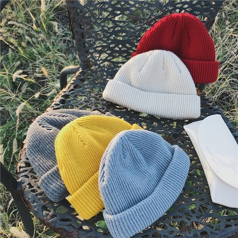 New Winter Hats for Woman HipHop Knitted Hat Women's Warm Slouchy Cap Crochet Ski   Beanie   Hat Female Soft Baggy   Skullies     Beanies