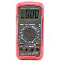 Digital Multimeter UNIT UT55 1000V 20A DMM AC/DC Voltmeter Resistance Diode Temperature Test Handheld Multimeter Tester