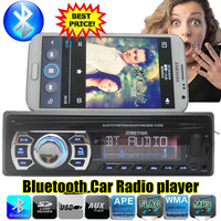 2016 Newest Car Radio Bluetooth MP3 FM USB One Din In Dash USB Port 12V Car
