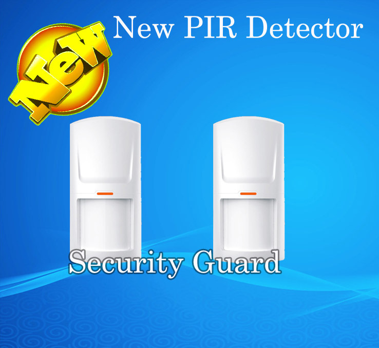 Free Shipping wireless passive infrared detector PIR Sensor 315M/433MHz for wireless GSM PSTN Home security Alarm System YLHW-02 free shipping new 6pcs gsm alarm system white infrared detector 433 mhz sensor for wireless home burglar security alarm system