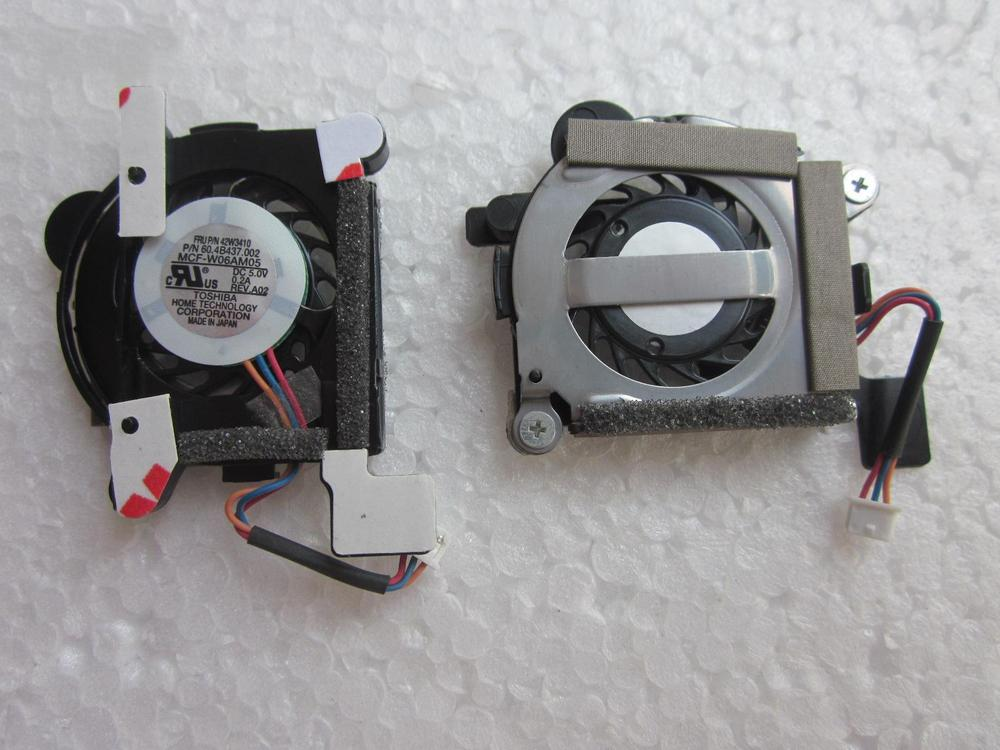 ФОТО New original For IBM FOR LENOVO  X61 X61S  small cooling fan radiator 42W3410,Free shipping