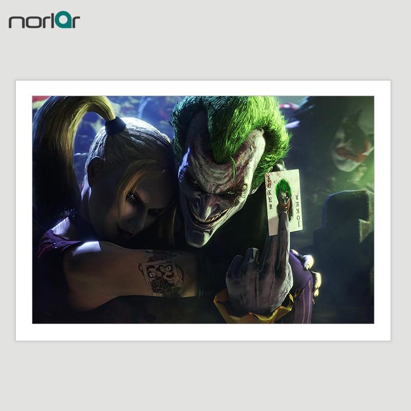 Wall Art Canvas Filmski poster Batman Joker Canvas slikanje na platnu - Kućni dekor - Foto 2