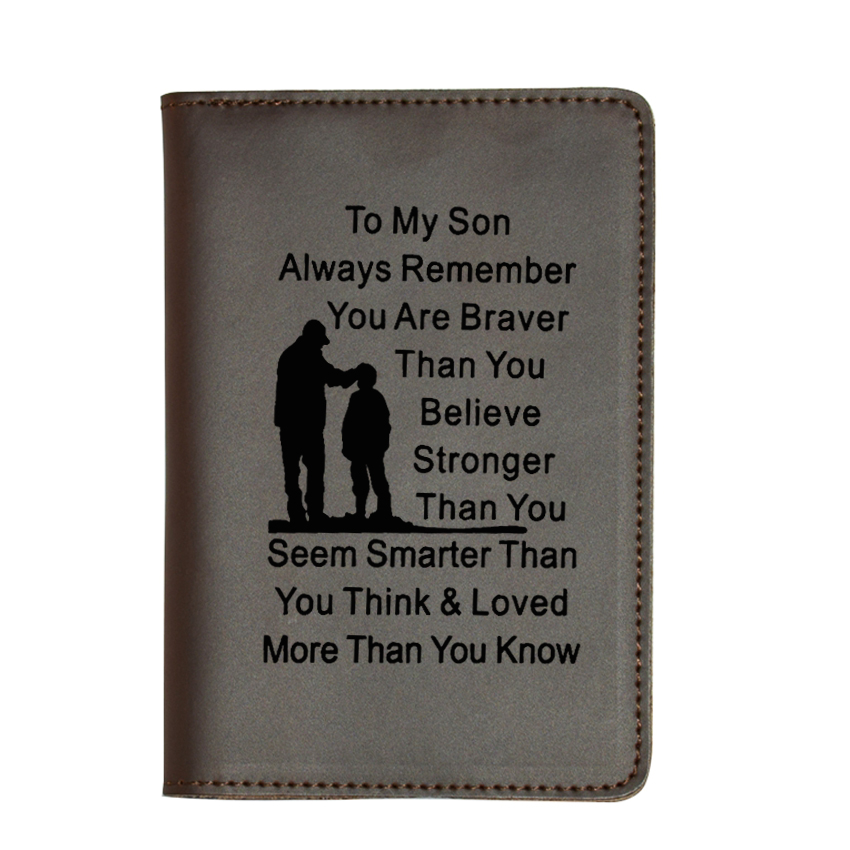 TO MY SON DAD BR