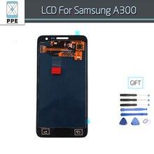 Pantalla LCD Para Samsung Galaxy A3 2015 A300X A300 A3000 A300H A300F Teléfono Pantalla Táctil Digitalizador Pantalla Completa Botón de Inicio