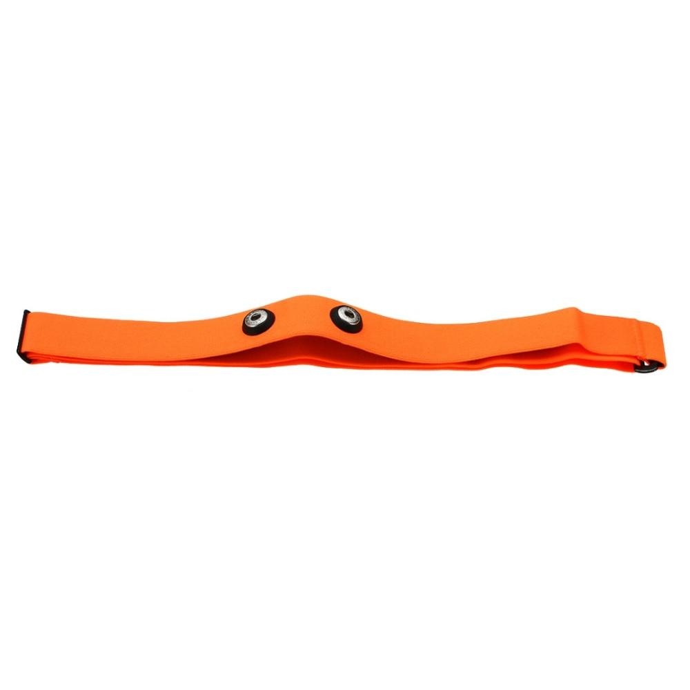 Højkvalitets orange elastisk brystbæltebåndbånd til Wahoo Garmin - Fitness og bodybuilding - Foto 3
