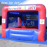Hot sale inflatable candy floss booth/food booth,pop up bar with remvable banners for party and advertising