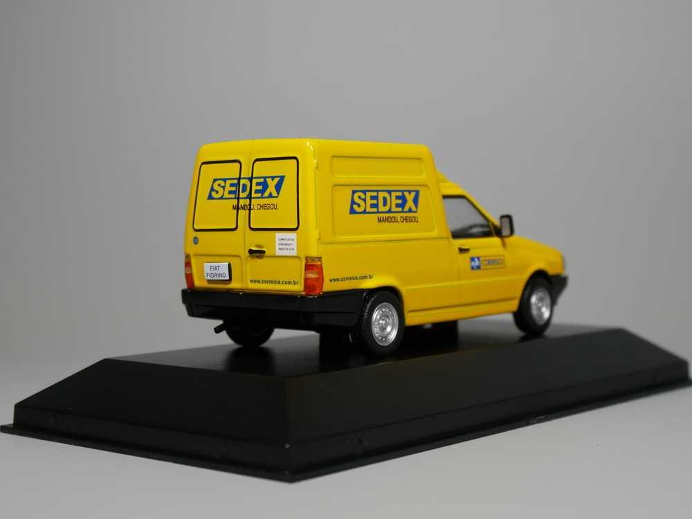 """Auto Inn-ixo 1:43 Fiat Fiorino Correios """"SEDEX"""" Diecast model car"""