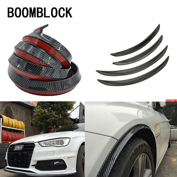 Auto Car-styling Sticker For BMW E36 F30 F10 X5 E53 E30 F20 E70 Mini Cooper Lada Spoilers Front Bumper Lid Wheel Tire Eyebrow image