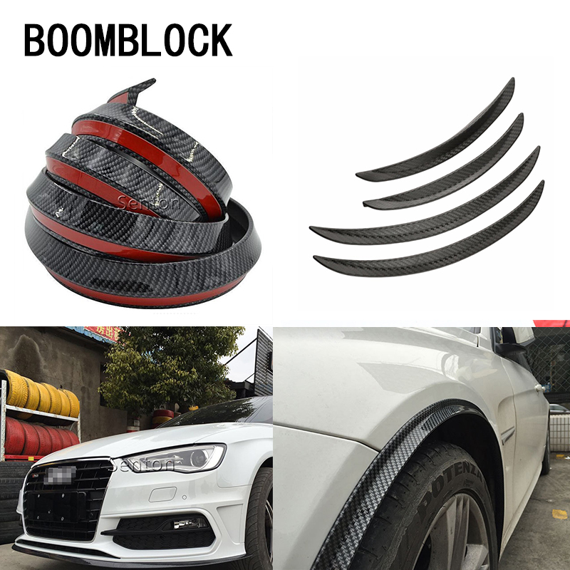 Auto Car-styling Sticker For <font><b>BMW</b></font> E36 F30 F10 X5 E53 <font><b>E30</b></font> F20 E70 Mini Cooper Lada Spoilers Front Bumper Lid Wheel Tire <font><b>Eyebrow</b></font> image