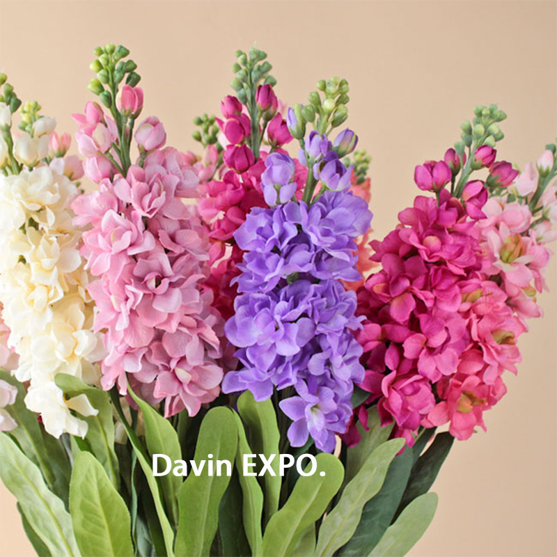 New 5pcs Artificial Silk Hyacinth Flower Bouquet for Wedding Party ...