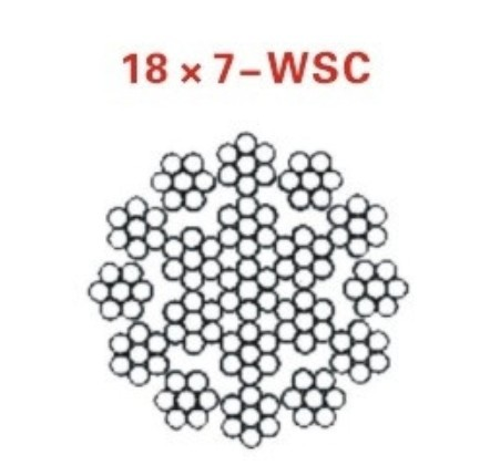 Steel Wire Rope for Oil Drilling Model 18x7 WSC on Aliexpress.com ...