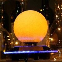 12cm Magnetic 3D Levitation Moon Lamp Floating Night Light Romantic Birthday Festival Gift Home Decor Free