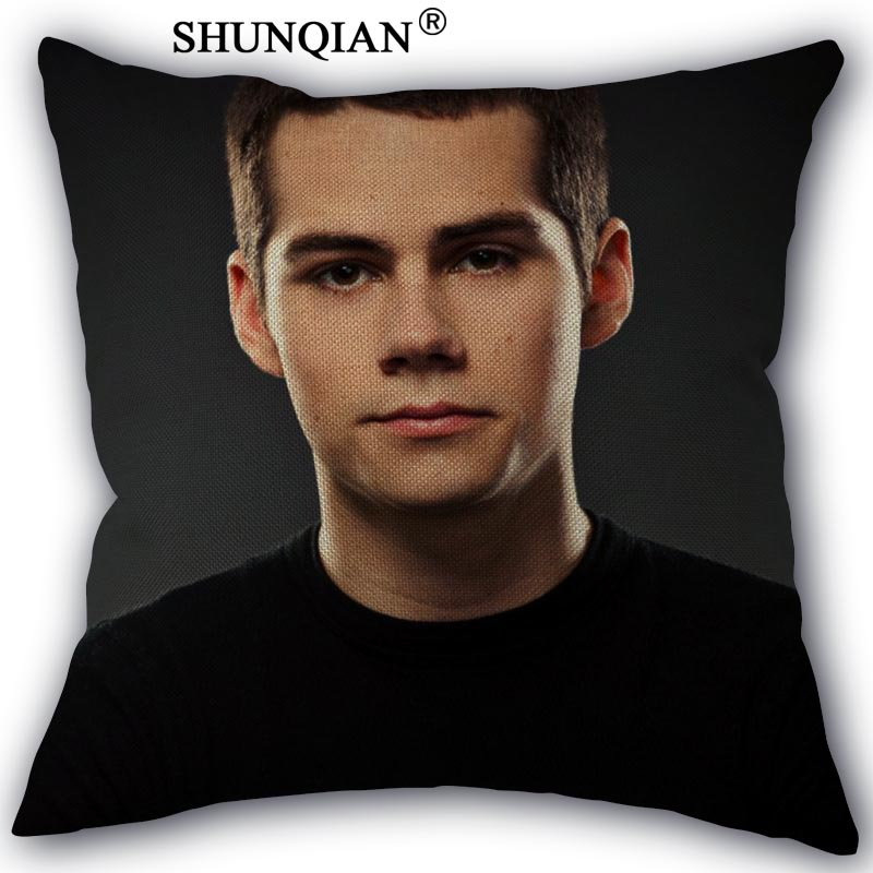 Gift Dylan Obrien Cushion Pillow Cover Case
