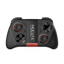 MOCUTE-050 VR Sport Pad Android Joystick Bluetooth Controller Selfie Distant Management Shutter Gamepad for PC Good Telephone + Holder