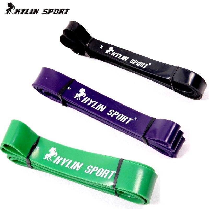 Freies Verschiffen Satz von 3 natürlichen Kraft-Widerstand-Bändern - Fitness und Bodybuilding - Foto 2