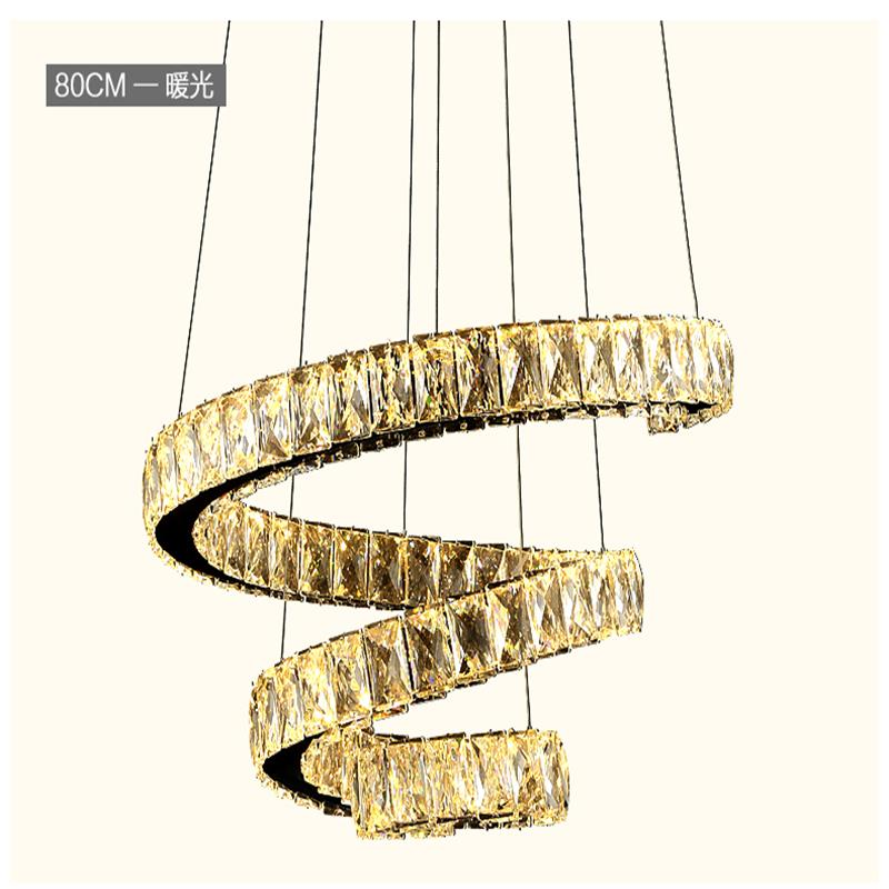 Modern LED Crystal Chandelier Lights Lamp avize For Living Dining Room Cristal Lustre Chandeliers Hanging Fixtures sitting room modern crystal chandelier led hanging lighting european style glass chandeliers light for living dining room restaurant decor