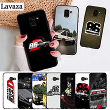 Lavaza AE86 Initial D Silicone Case for Samsung A3 A5 A6 Plus A7 A8 A9 A10 A30 A40 A50 A70 J6 A10S A30S A50S